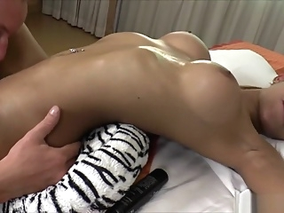 Thai Shemale Benz gets her dick sucked and her ass fucked blowjob asian guy fucks shemale