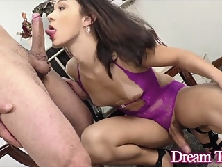 Dream Tranny - Shemale Blowjobs Compilation Part 10 shemale big tits shemale blowjob shemale compilation