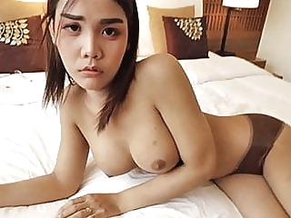 HELLOLADYBOY Thai Asian Ladyboy Begs For Messy Cum ladyboy (shemale) amateur (shemale) big cock (shemale)